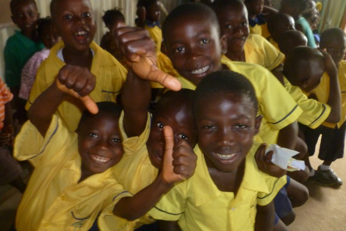 Juba Church School kids