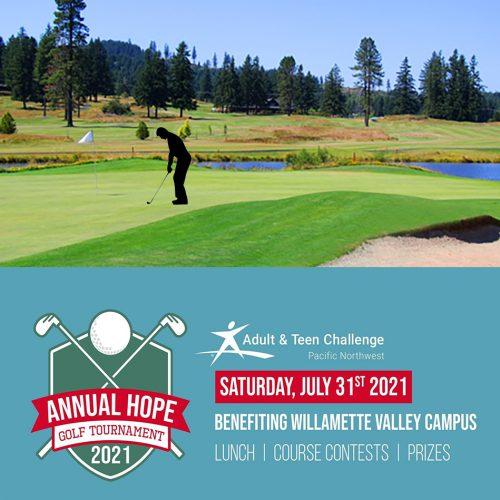 Teen Challenge Golf Fundraiser