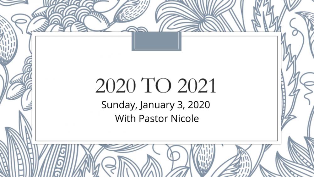 2020 to 2021: Thankfulness