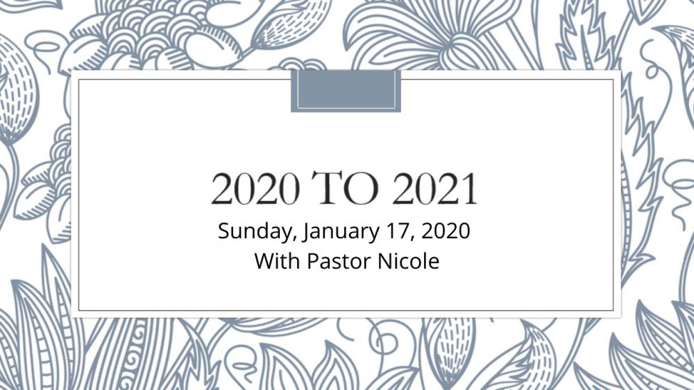 2020 to 2021: Community