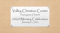 2020 Ministry Celebration