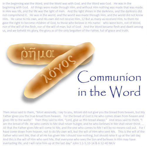 Communion in the Word – Women's Bible Study