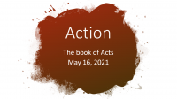 Action: The Book of Acts 2.0